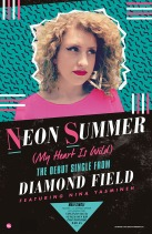 Neon Summer promo poster